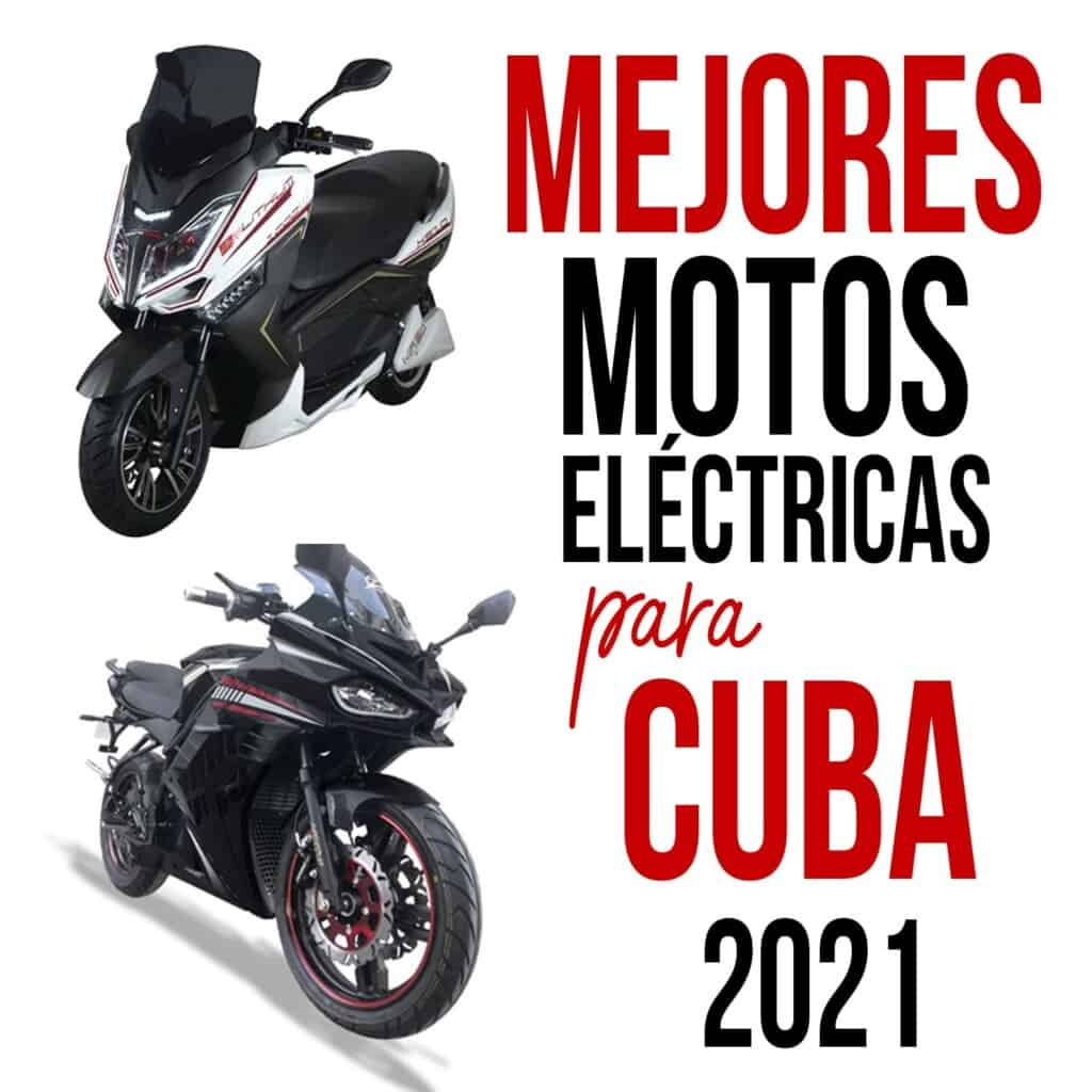 motos electricas para cuba