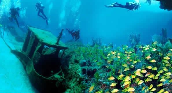 Buceo en Cuba