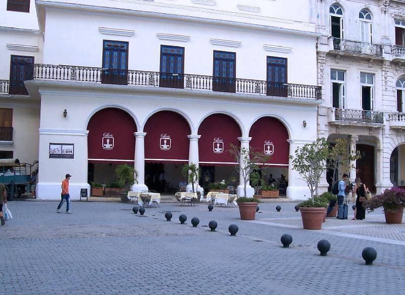 Comer en Habana Vieja