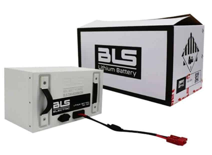 Batería de lithium BLS con envio a cuba