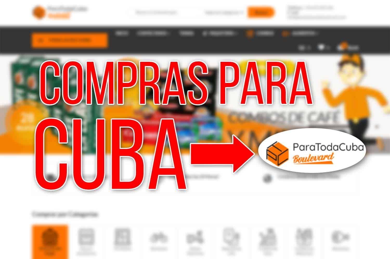 Compras para Cuba con ParaTodaCubaBoulevard.com