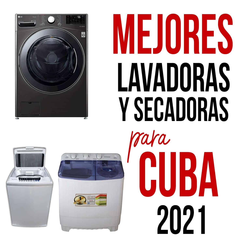 Lavadoras para cuba