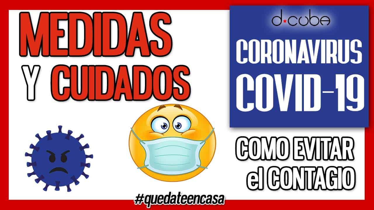MEDIDAS Y CUIDADOS CORONAVIRUS