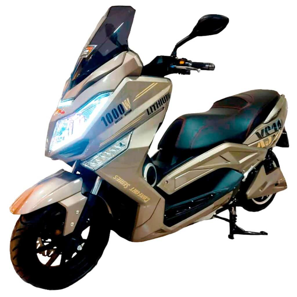 MOTO ELECTRICA XS10 para Cuba