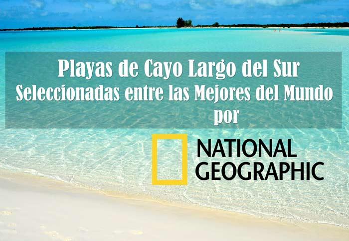 National Geographic coloca playas de Cuba entre las mejores del mundo