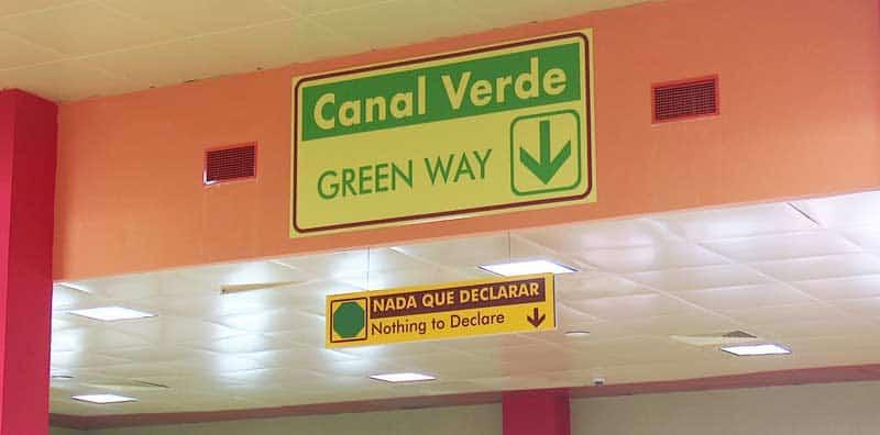 aduana cuba canal verde