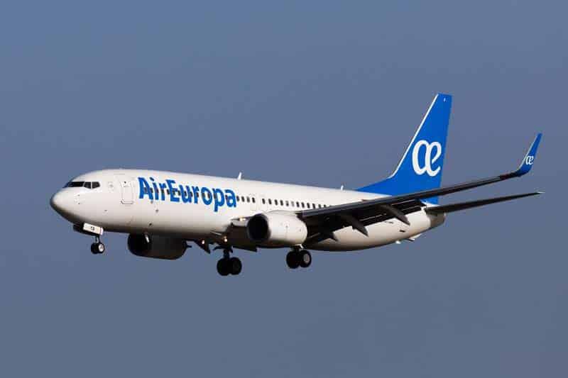 aireuropa vuelos españa cuba agosto 2021