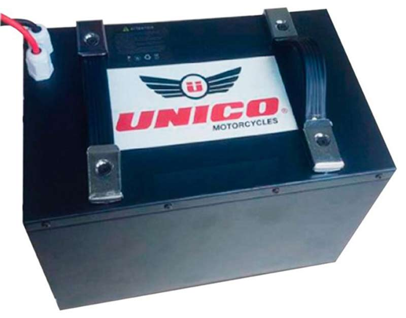 bateria de lithium para moto electrica unico