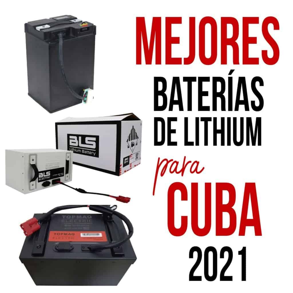 baterias para motos electricas para cuba