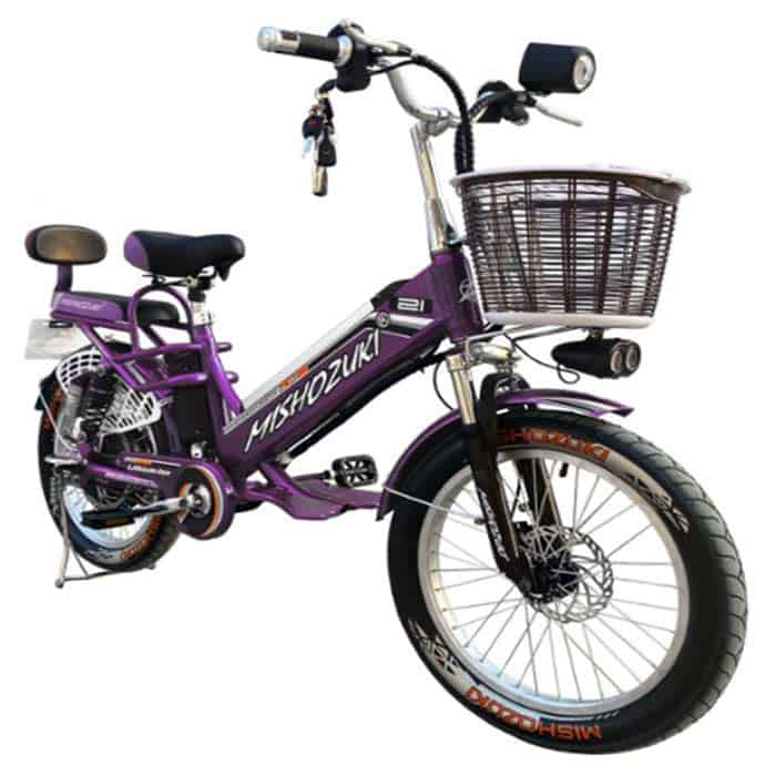 bicicleta electrica MISHOZUKI para cuba
