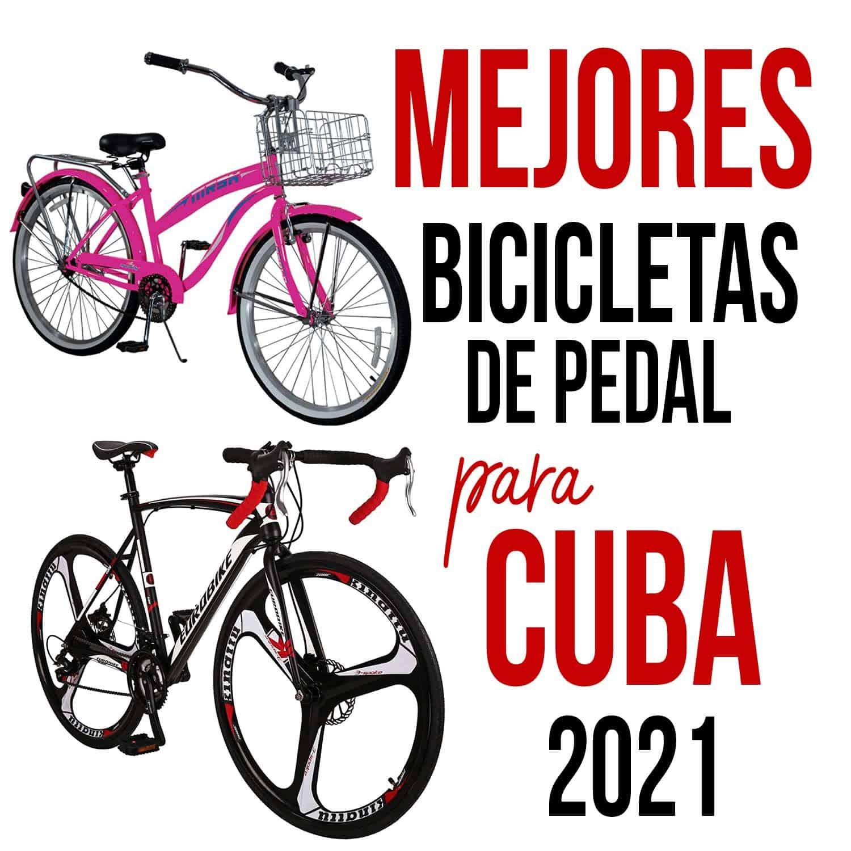 bicicletas de pedal para cuba