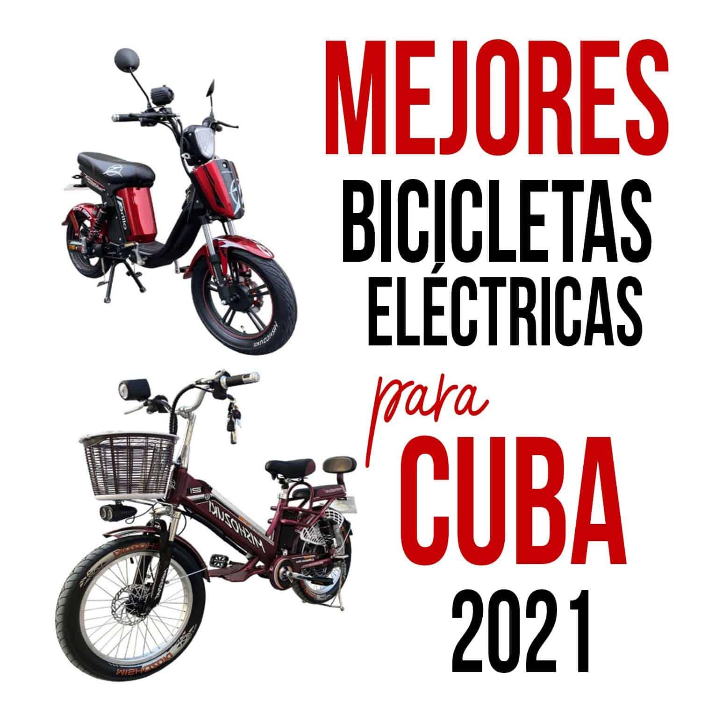 bicicletas electricas para cuba