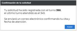 confirmacion de cita para embajada de mexico