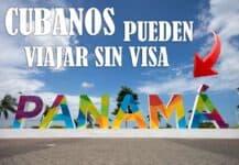 cubanos viajar panama sin visa