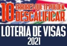 descalificar loteria de visas 2021