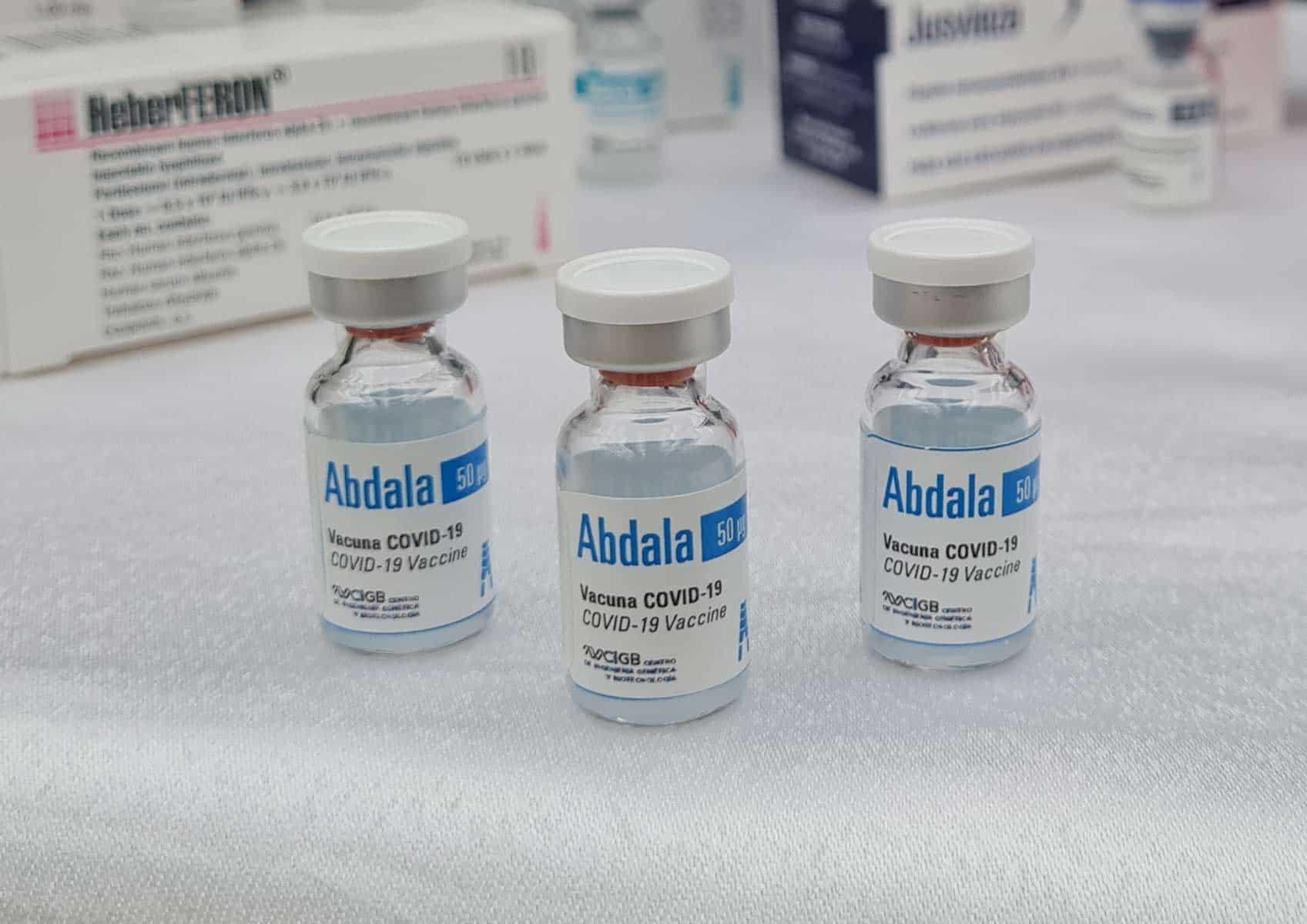 ensayo clínico vacuna Abdala en niños