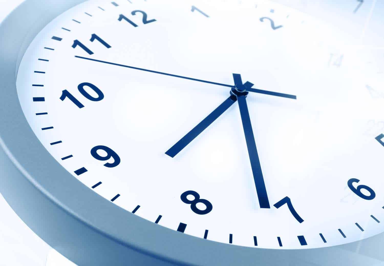hora exacta