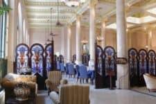 Vista del Restaurante Jardín del Edén