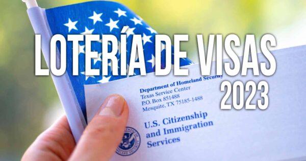 Lotería de Visas DV-2023