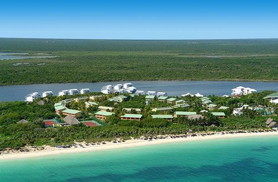 Vista Aérea del Hotel Melia Cayo Coco