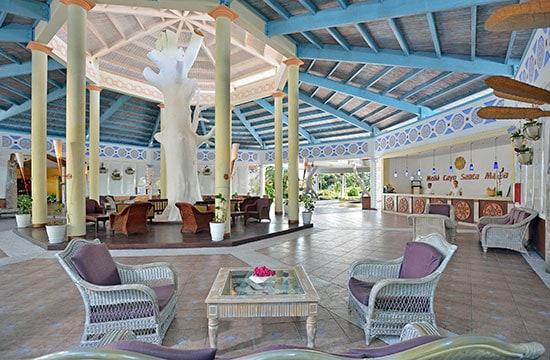 Lobby del Hotel Melia Cayo Santa María