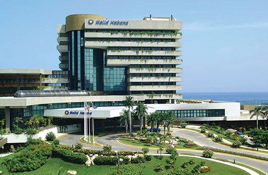 Vista Aéra del Hotel Melia Habana