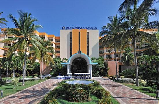 Vista exterior del Hotel Meliá Varadero