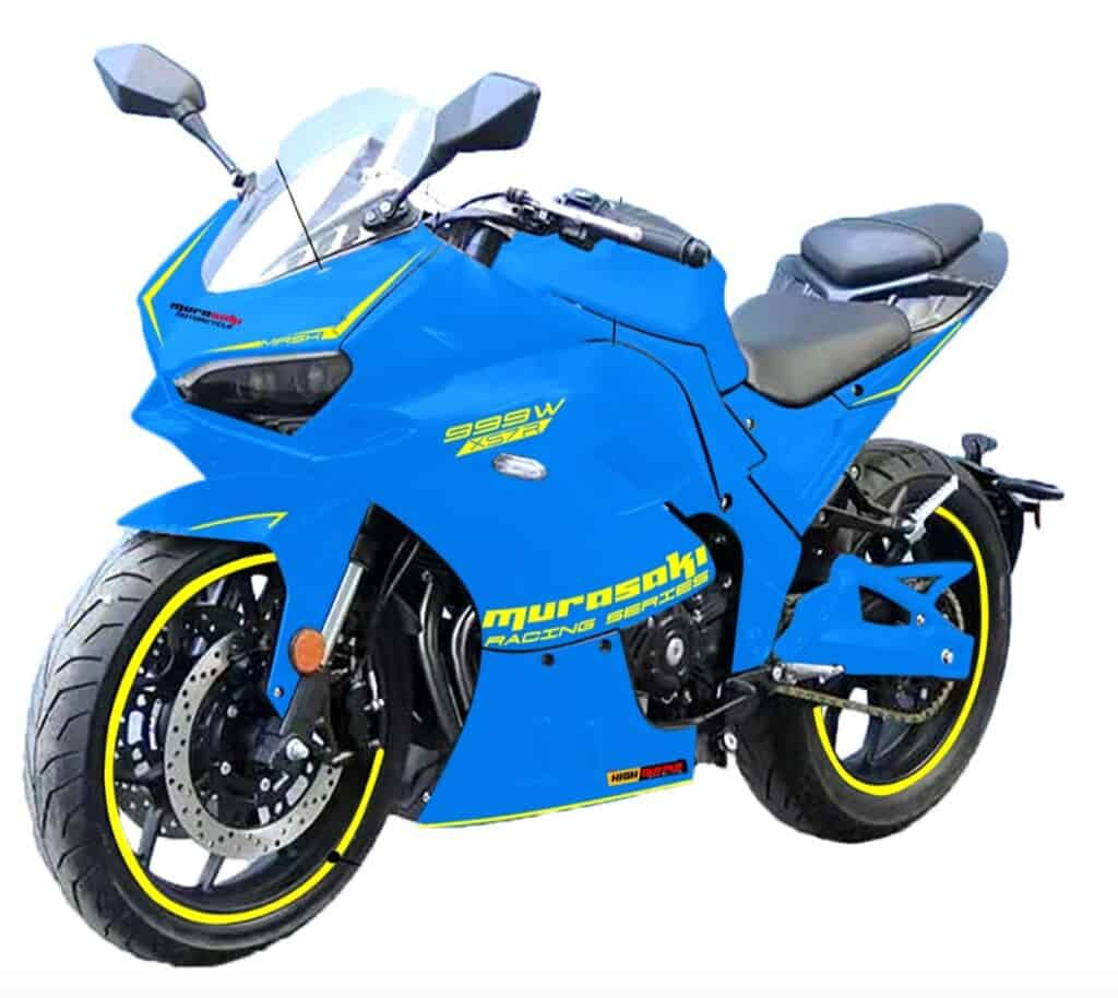 moto electrica murasaki racing