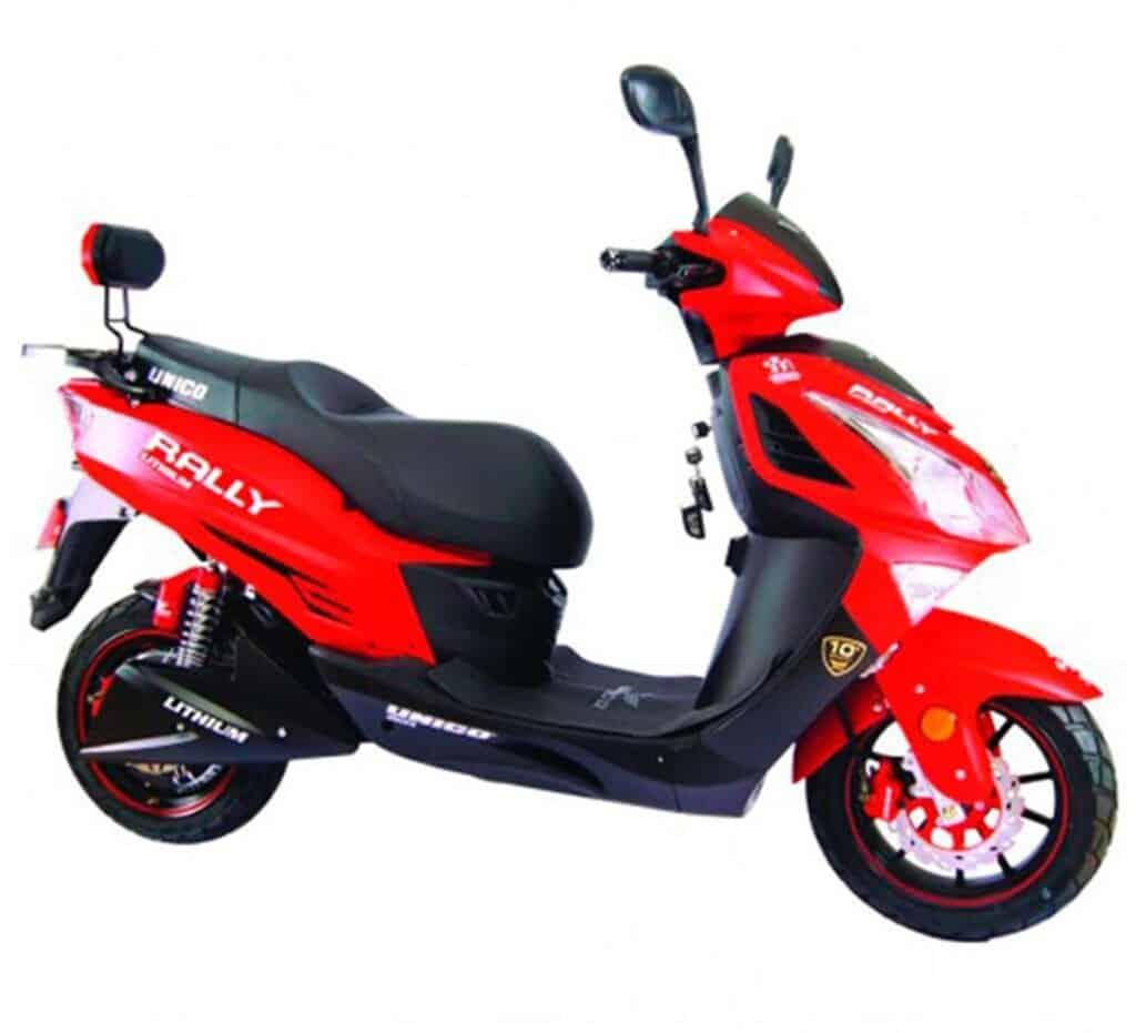 moto electrica unico rally