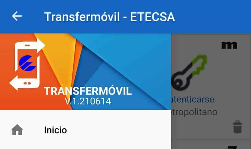 nueva version transfermovil V.1.210614