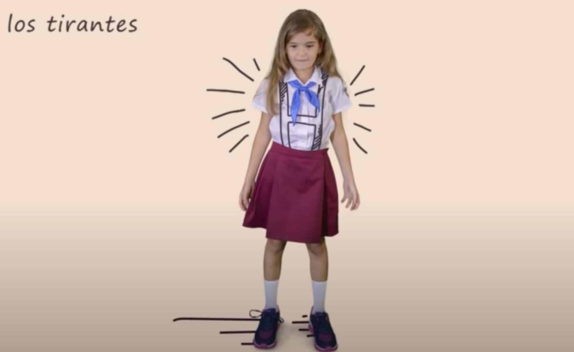 nuevo uniforme escolar en cuba
