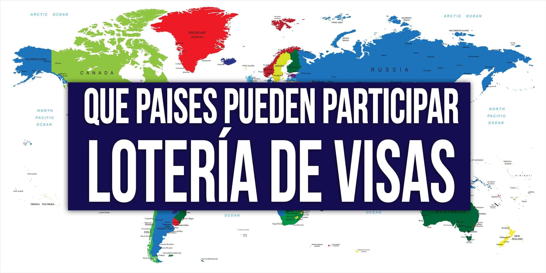 paises elegibles loteria de visas 2023