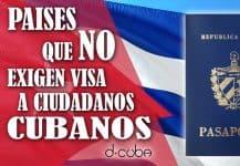 paises libre visado