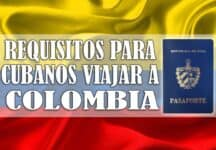 requisitos cubanos viajar colombia