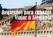 requisitos para cubanos viajar a alemania