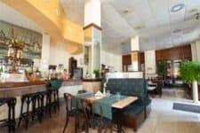 Vista del Restaurante El Mercurio