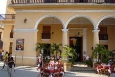 Vista del Restaurante Santo Ángel