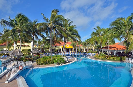 Piscina del Hotel Sol Cayo Guillermo