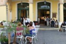 Vista del Restaurante Factoría Plaza Vieja