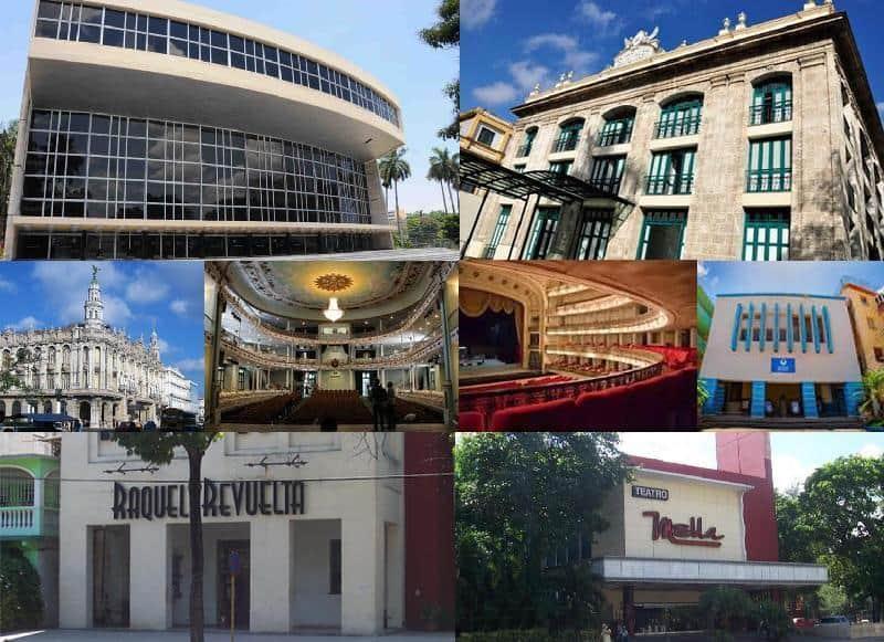 Teatros de La Habana