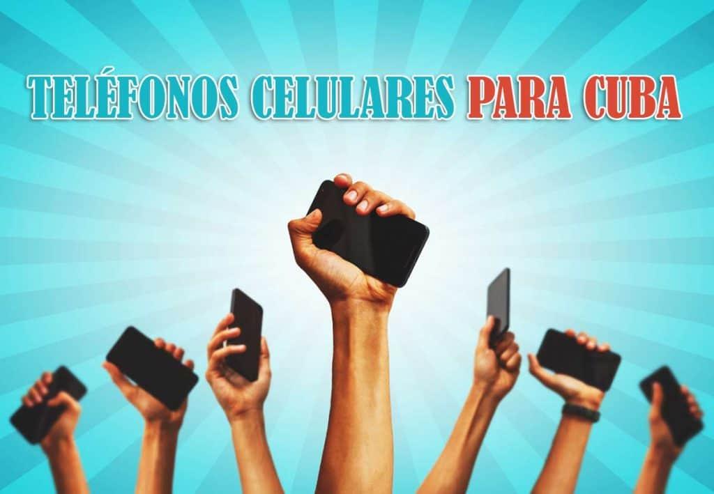 telefonos celulares para cuba