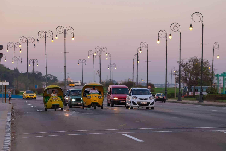 transporte publico cuba