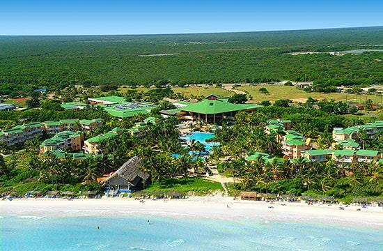 Vista Aérea del Hotel Tryp Cayo Coco