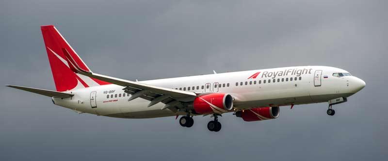 vuelos con royal flight cuba rusia julio 2021
