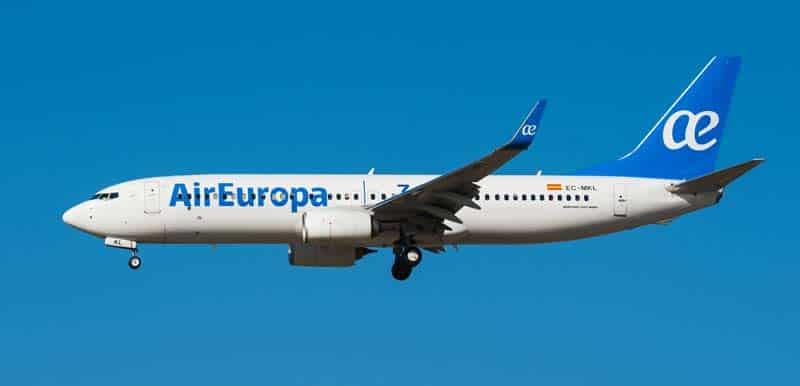 vuelos cuba espana air europa julio 2021